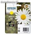 Epson cartucho T1804 amarillo XP225/322/422