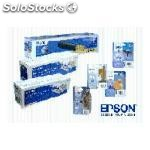 Epson cartuchos inyeccion T1574 amarillo 25,9ML blister + alarma C13T15744010