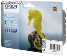 Epson Multipack 6 colores T 048 T 0487