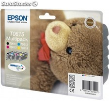 Epson - Multipack T0615 4 colores