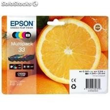 Epson pack cartouche orange 33