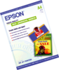Epson papel autoadhesivo especial a4 10 hojas 167 gr c13s041106