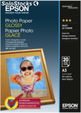 Epson Papel foto Glossy A 3 20 hojas 200g