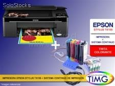 Epson Photo tx135 + Sistema continuo - Colorante