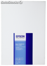 Epson Traditional Papel foto seda mate A 3+ 25 hojas, 330 g