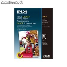 Epson - Value Glossy Photo Paper A4 (210 297 mm) Brillo Multicolor