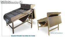 EQUEUTEUSE OLIVES EN INOX