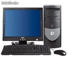 "Equipo Completo Dell GX280 Torre P4 2800 Mhz/512 Mb/80 Gb/ CD Rom+ Tft 17"" Dell"
