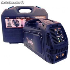 Equipo Soldar Inverter Zeustig200mp 170a