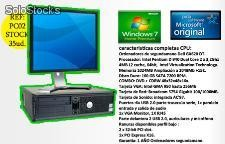 Equipos Completos dell con Windows 7 Incluidos + monitor tft 17""