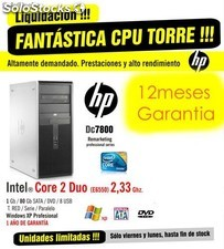 Equipos CPU Potentes Intel Core 2 Duo
