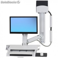 Ergotron - StyleView PC Multimedia stand Color blanco