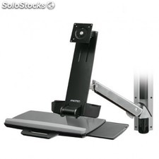 """Ergotron - StyleView Sit-Stand Combo System 24"""""""" Aluminio"""
