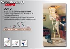 Escalera plegable altillo para acceso desván, escamoteable