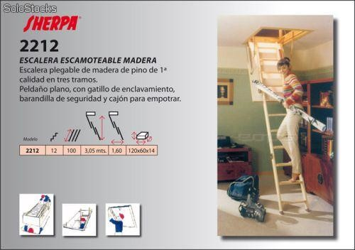 Escalera plegable altillo para acceso desv n escamoteable barato - Escalera plegable altillo ...