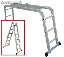 Escalera transformable en andamio 370cm