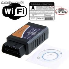 Escaner compatible con ELM327 mini obdii-OBD2 diagnosis multimarca wifi iphone