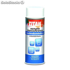 Esmalte Electrodomesticos Brillante Titan Blanco Spray 200Ml Titan