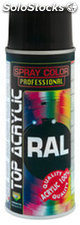 Esmalte spray acrilico ral 9010 blanco mate 400 ml