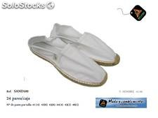 Espadrilles blanches Hommes