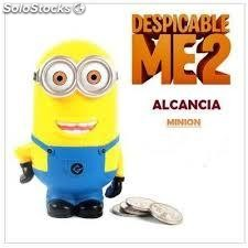 Espectacular Parlante Bluetooth Con Alcancia Minion USB Radio FM