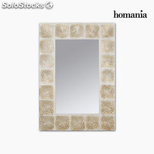 Espejo rectangular de metal by Homania