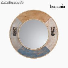 Espejo redondo metal by Homania