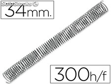 Espiral metalico q-connect 56 4:1 34MM 1,2MM