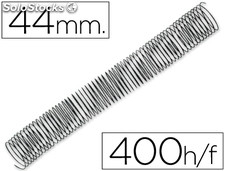 Espiral metalico q-connect 56 4:1 44MM 1,2MM
