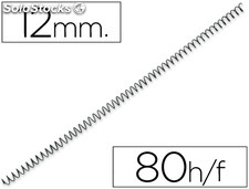 Espiral metalico q-connect 64 5:1 12 mm 1MM