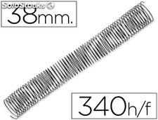 Espiral metalico q-connect 64 5:1 38MM 1,2MM