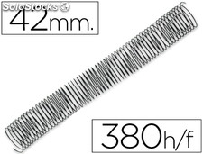 Espiral metalico q-connect 64 5:1 42MM 1,2MM