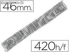 Espiral metalico q-connect 64 5:1 46MM 1,2MM