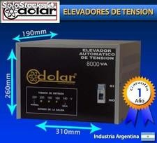 "Estabilizador de tension "" totalmente automatico"" 8000va 8kva"