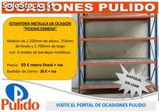 Estanteria de picking metalica esmena