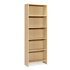 Estanteria geno 5 estantes maple. 600x240x1720mm