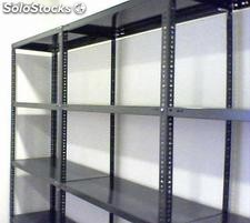 Estanterias angulo ranurado, Rack, Cantilever, Full Space, Lockers