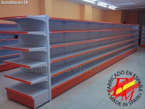 Estanterias para supermercados barato for Muebles para supermercado
