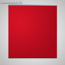Estor Persiana Enrollable 80 x 175cm Rojo