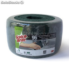 Estropajo verde rollo scotch brite 6MX134MM