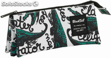 Estuche Blackfit8 Alligator Triple