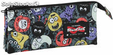 Estuche Blackfit8 Monsters Triple