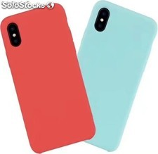 estuche carcasa silicona gel iphone