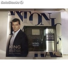Estuche de colonia antonio banderas king of seduction