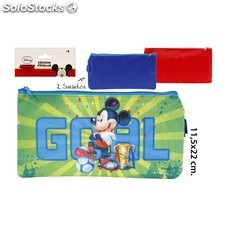 Estuche escolar, disney, -mickey-