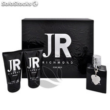 Estuche john richmond edt 50 ml + after shave bálsamo 50 ml + gel de