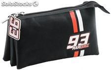 Estuche Marc Márquez Black Triple