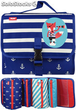 Estuche Milán Anchor Club Blue Multipencilcase 38 Piezas