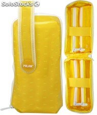 Estuche Milan Look Yellow Handly Multipencilcase 31 piezas