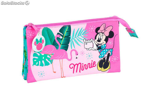 7e03b1089f81e Estuche Minnie Palms Triple